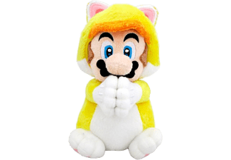 TOGETHER PLUS Mario Gatto Mains Magnétiques - Peluche (Multicolore)