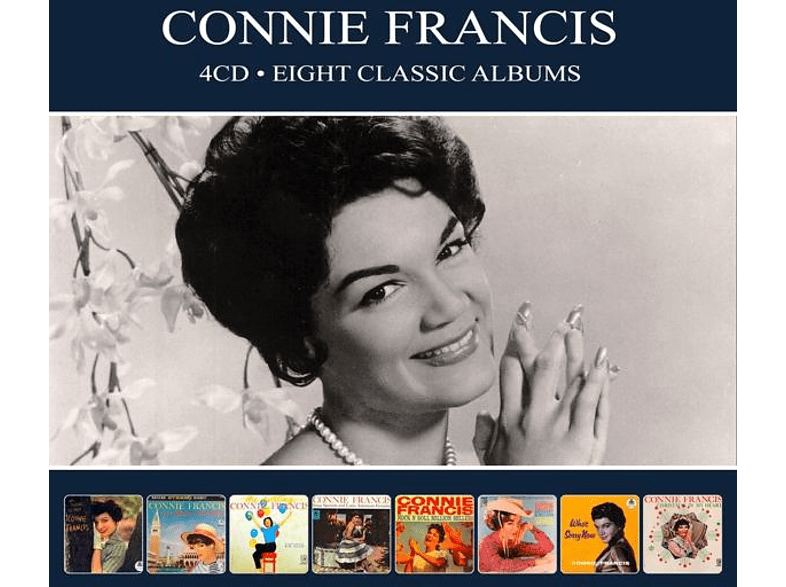 Connie Francis - 8 Classic Albums [CD]