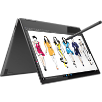 LENOVO Yoga 730, Convertible mit 13.3 Zoll Display, Core™ i5 Prozessor, 8 GB RAM, 256 GB SSD, Intel® UHD-Grafik 620, Iron Grey
