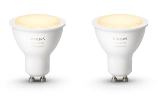 PHILIPS Ledlamp Hue White GU10 5.5W duopack (929001819502)
