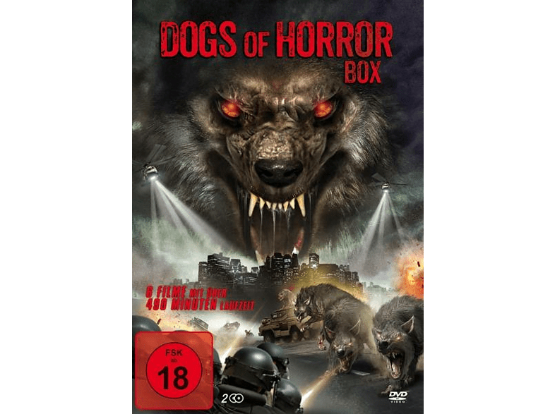 Dogs of Horror Box [DVD]