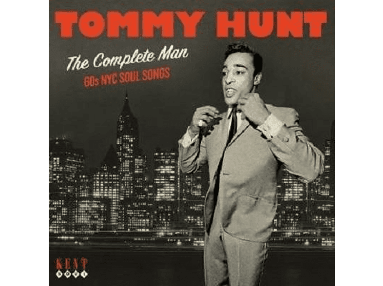 Tommy Hunt - The Complete Man-60 Nyc Soul Songs [CD]