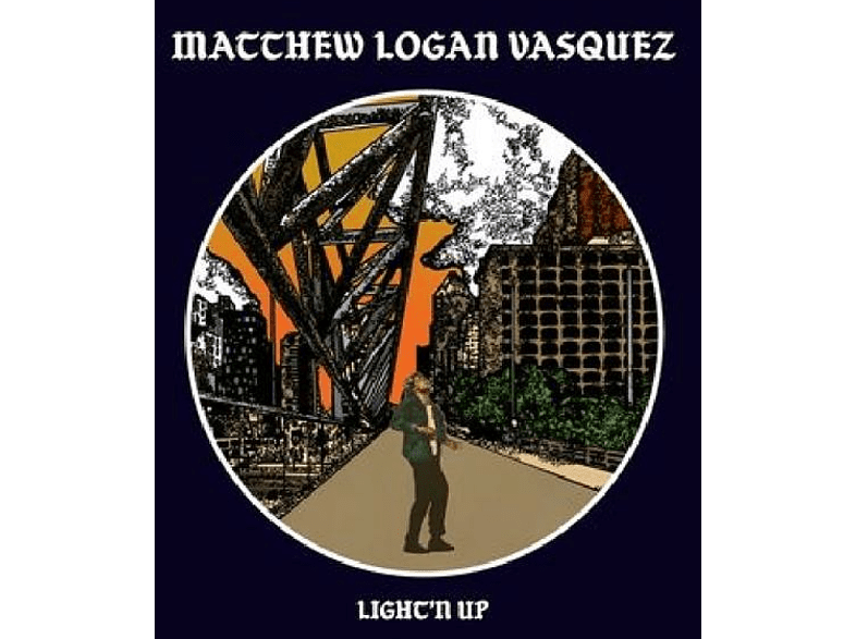 Matthew Logan Vasquez - Light'n Up [CD]