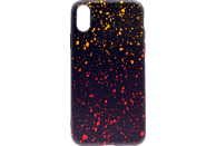 AGM 27515 Point , Backcover, Apple, iPhone XR, Thermoplastisches Polyurethan, Gelb/Orange