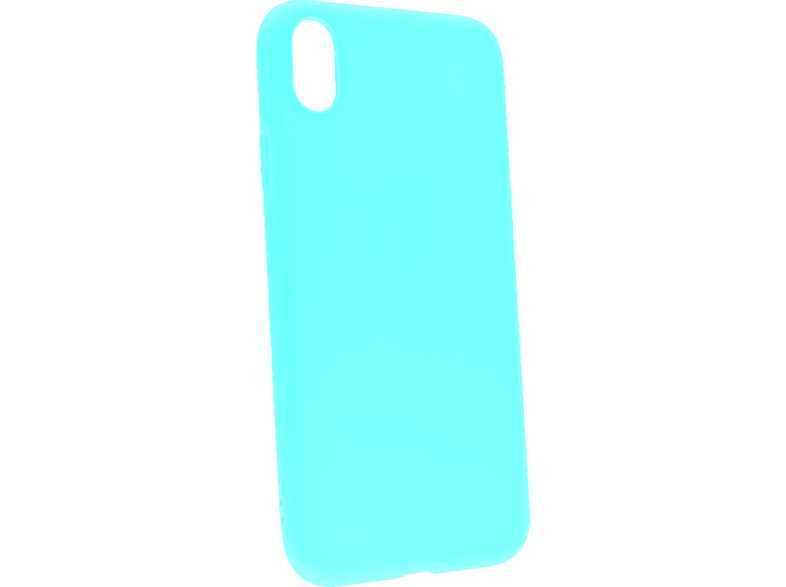 AGM 27523 matt , Backcover, Apple, iPhone XR, Thermoplastisches Polyurethan, Mint