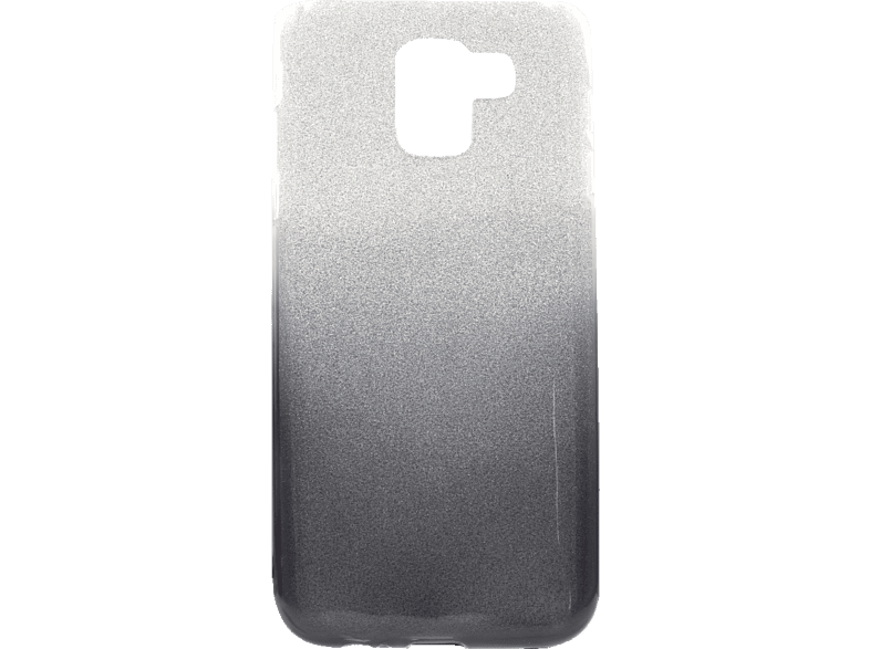 AGM 27453 Slope , Backcover, Samsung, J6 (2018), Polycarbonat/Thermoplastisches Polyurethan, Smoked