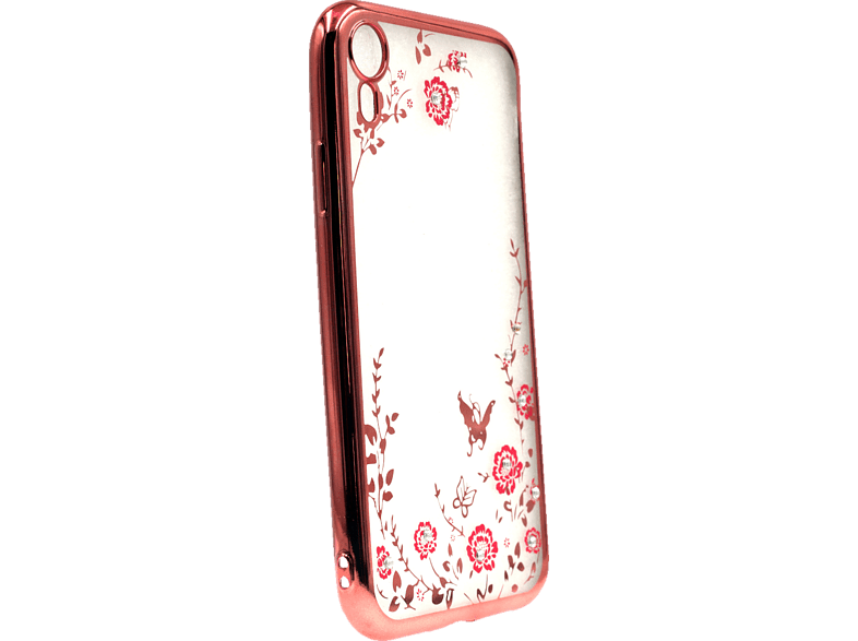 AGM 27527 Feeling , Backcover, Apple, iPhone XR, Thermoplastisches Polyurethan/Kunststoff, Rose Gold