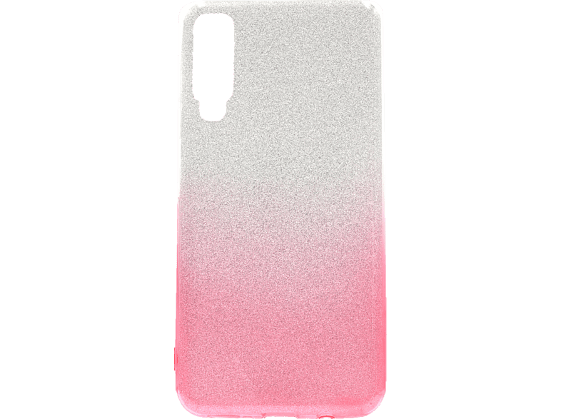 AGM  27444 Slope Backcover Samsung A7 (2018) Polycarbonat/Thermoplastisches Polyurethan Pink | 04026436274446