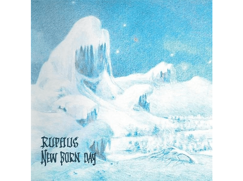 Ruphus - New Born Day (Transparent Blue Vinyl) [Vinyl]