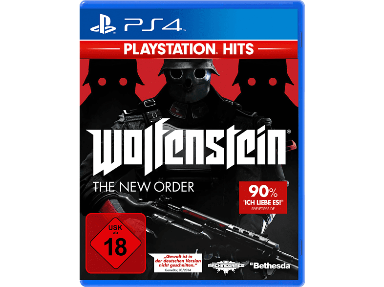 PlayStation Hits: Wolfenstein: The New Order [PlayStation 4]