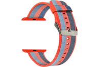 TOPP 40-37-1841, Ersatz-und Wechelarmband, Apple, Watch 38/40, Orange/Blau