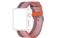 TOPP 40-37-1858, Ersatz-und Wechelarmband, Apple, Watch 42/44, Orange/Blau