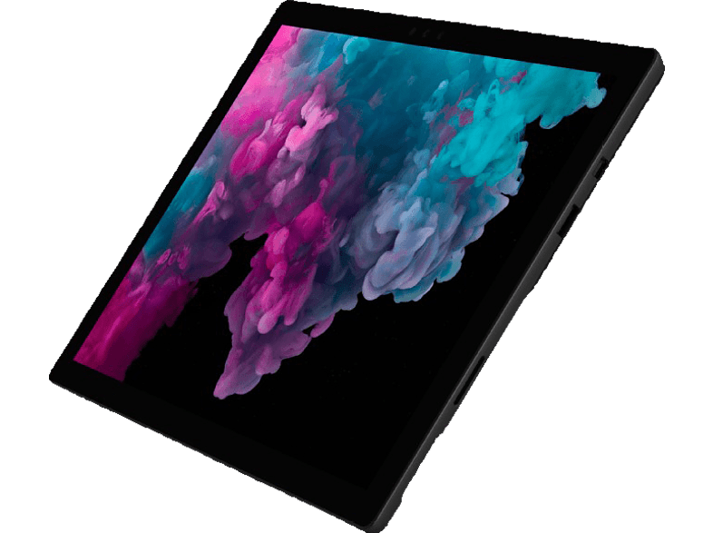 MICROSOFT Surface Pro 6, Convertible mit 12.3 Zoll Display, Core™ i7 Prozessor, 8 GB RAM, 256 GB SSD, Intel® UHD-Grafik 620, Schwarz