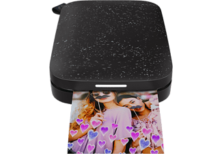 HP Sprocket 200 Photo Printer - Svart
