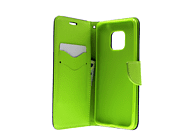 AGM 27591 Fashion , Bookcover, Huawei, Mate20 Pro, Kunstleder/Thermoplastisches Polyurethan, Dunkelblau/Lime