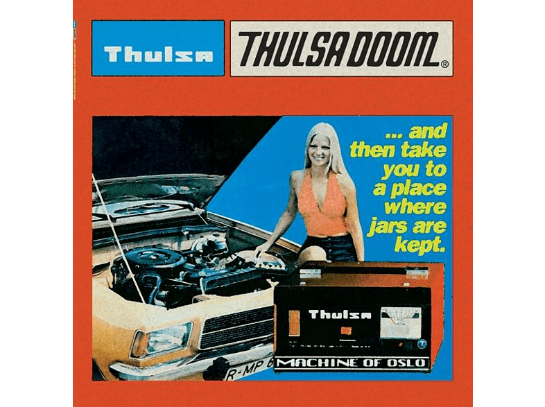 Thulsa Doom - ...And Then Take You To A Place...(Black Vinyl) [Vinyl]
