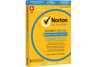 SYMANTEC PC/Mac - Norton Security Deluxe 3.0 - 3 PCs /M -