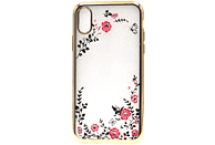AGM 27671 Feeling , Backcover, Apple, iPhone X, iPhone XS, Thermoplastisches Polyurethan und Kunststoff, Gold