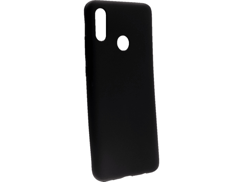 AGM 27652 Soft , Backcover, Huawei, P Smart (2019), Thermoplastisches Polyurethan, Schwarz