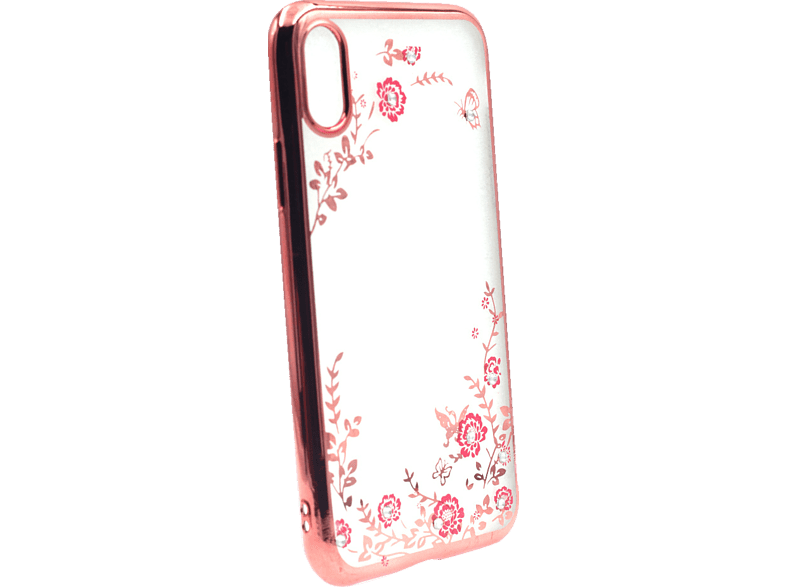 AGM 27670 Feeling , Backcover, Apple, iPhone X, iPhone XS, Thermoplastisches Polyurethan und Kunststoff, Rose Gold