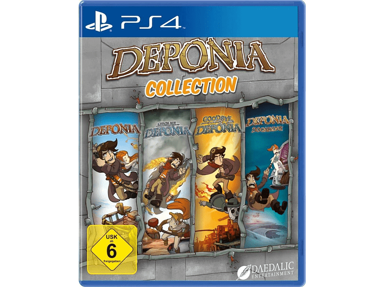 Deponia Collection [PlayStation 4]