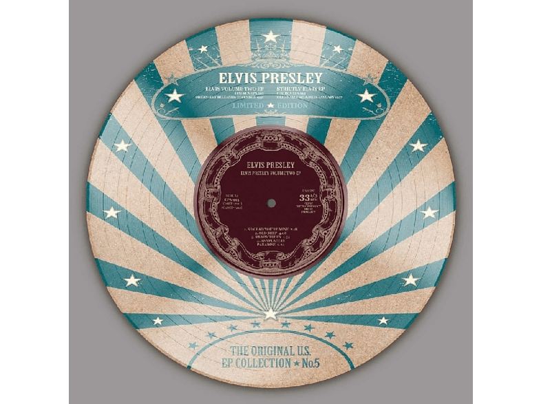 Elvis Presley - US EP Collection Vol.5 (10 '' Picture Disc) [EP (analog)]