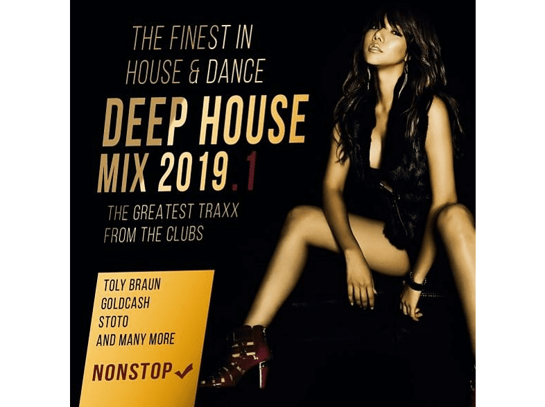 VARIOUS - Depp House Mix 2019 [CD]