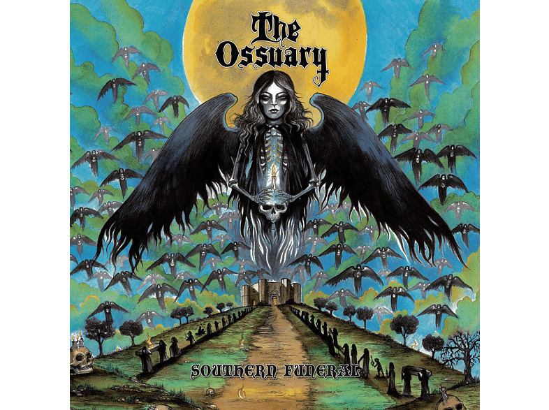 The Ossuary - southern funeral (sea blue) [Vinyl]