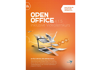 Open Office 4.1.5 inklusive Videolernkurs