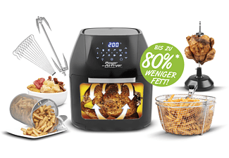 MEDIA SHOP Heißluftfritteuse Power AirFryer Multifunction Deluxe M 16439