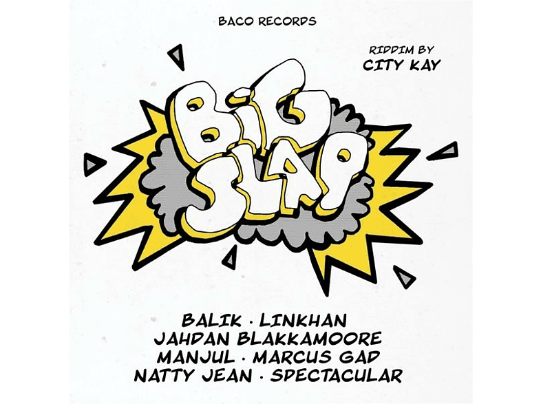 City Kay, VARIOUS - Black Bird/Big Slap Riddims [CD]