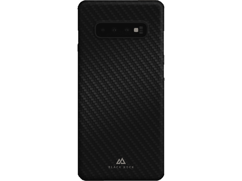 BLACK ROCK Ultra Thin Iced , Backcover, Samsung, Galaxy S10+, Polypropylen, Flex Carbon