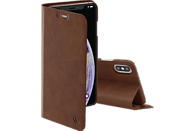 HAMA Guard Pro , Bookcover, Apple, iPhone XS Max, Kunstleder, Braun