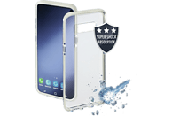 HAMA Protector , Backcover, Samsung, Galaxy S10e, Thermoplastisches Polyurethan, Weiß/Transparent