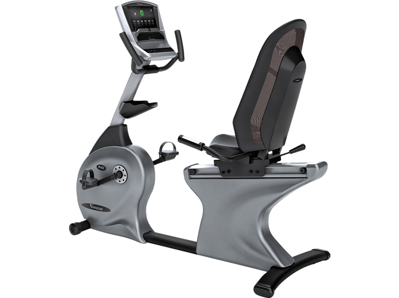 VISION FITNESS R40i Touch Liegeergometer, Silber/Grau