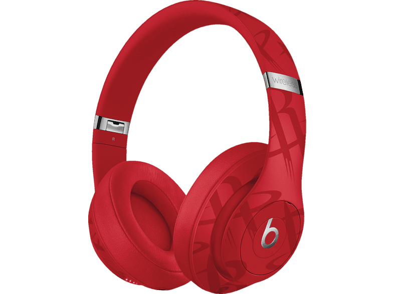 BEATS Studio3 Wireless Kopfhörer – NBA Collection – Rockets, Over-ear Kopfhörer, Rot
