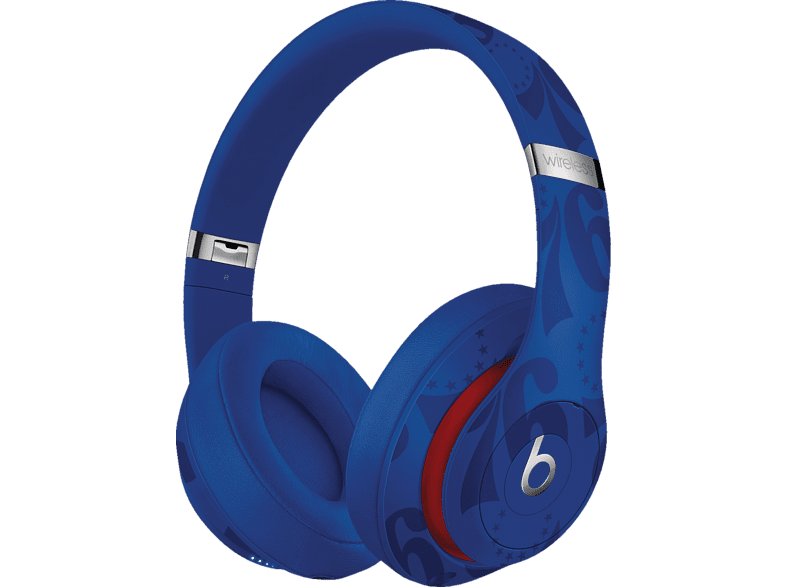BEATS Studio3 Wireless Kopfhörer – NBA Collection – 76ers, Over-ear Kopfhörer Bluetooth Blau