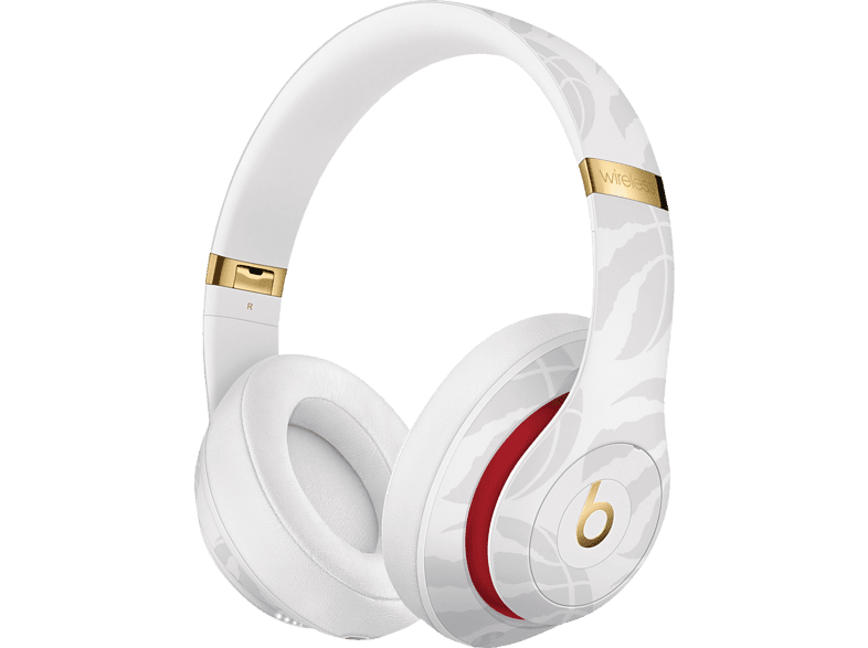BEATS Studio3 Wireless Kopfhörer – NBA Collection – Raptors, Over-ear Kopfhörer Bluetooth Weiß