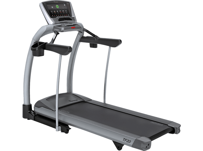 VISION FITNESS TF20 Touch Laufband, Silber/Grau