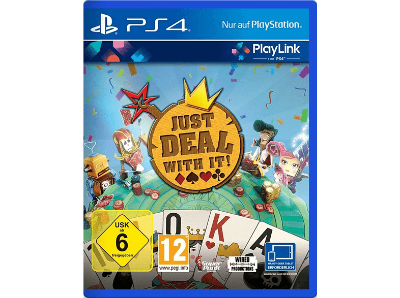 Just Deal with it! [PlayStation 4]
