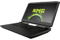 XMG ULTRA 17 - E19xnw, Gaming Notebook mit 17.3 Zoll Display, Core™ i9 Prozessor, 32 GB RAM, 1 TB SSD, 2 TB HDD, GeForce® RTX™ 2080, Schwarz
