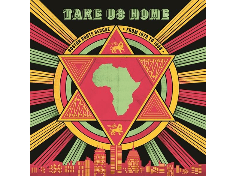 VARIOUS - Take Us Home: Boston Roots Reggae (1979-1988) [CD]