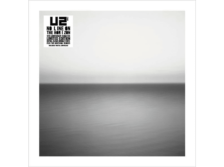 U2 - No Line On The Horizon (Ltd.Remastered Clear 2LP) [Vinyl]