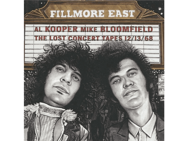 Al Kooper, Michael Bloomfield - Fillmore East Lost Concert Tapes [CD]