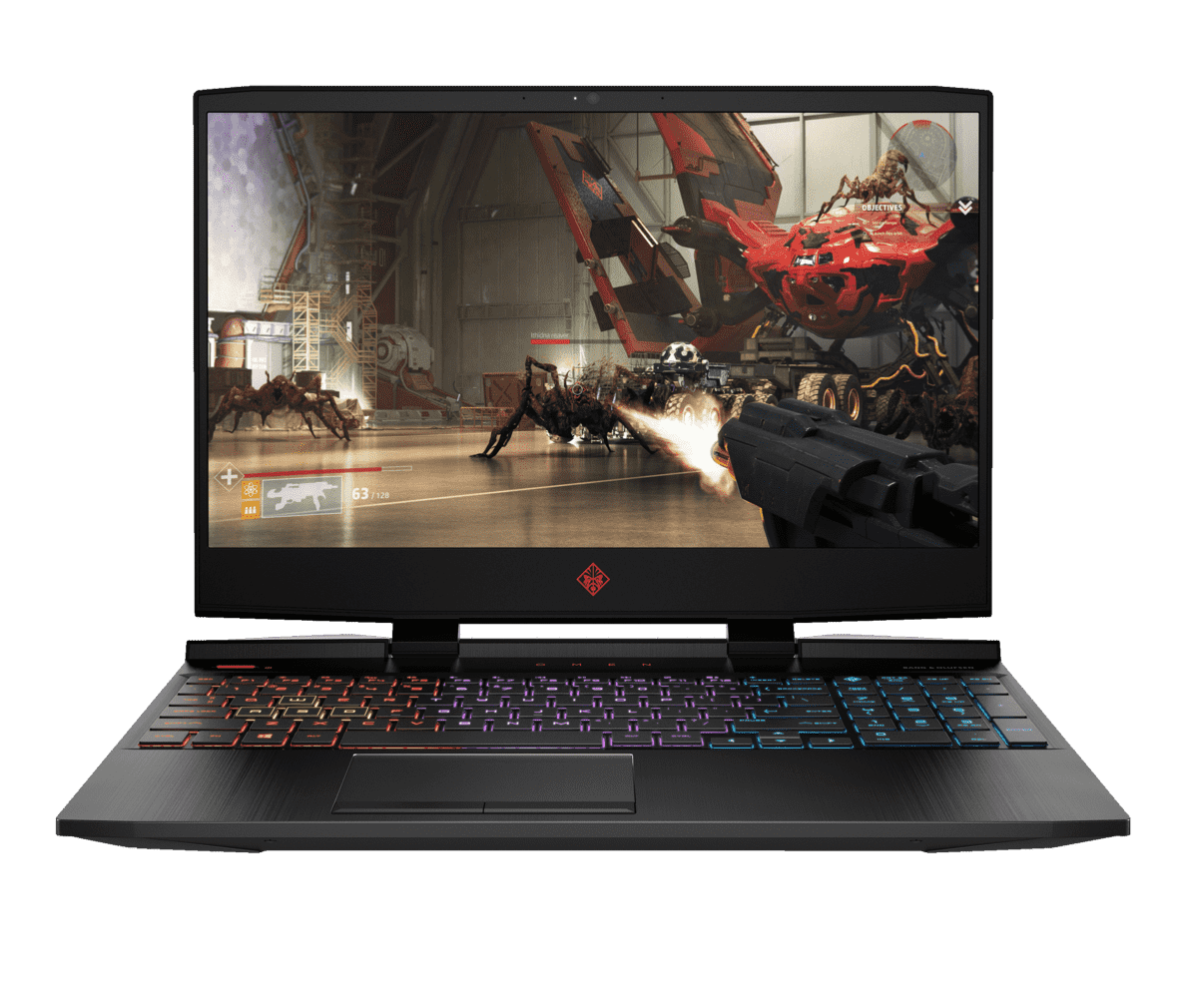 HP  OMEN 15-DC1306NG Gaming Notebook mit Core™ i5, 16 GB RAM, 1 TB & GeForce RTX 2060 in Shadow Black | 00193808395833