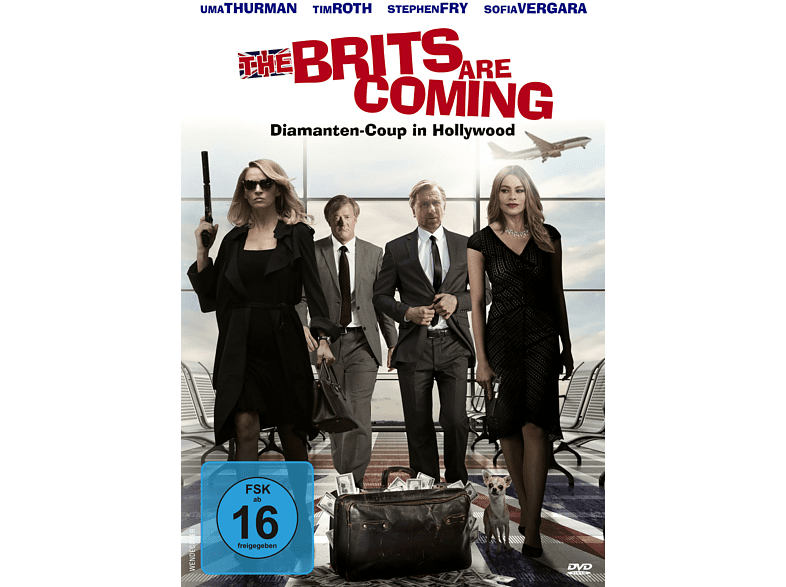 The Brits are coming - Diamanten-Coup in Hollywood [DVD]