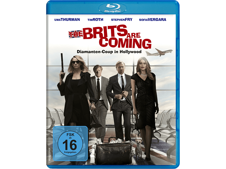 The Brits are coming - Diamanten-Coup in Hollywood [Blu-ray]