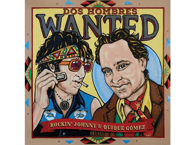 Rockin' Johnny Burgin - Dos Hombres Wanted [CD]