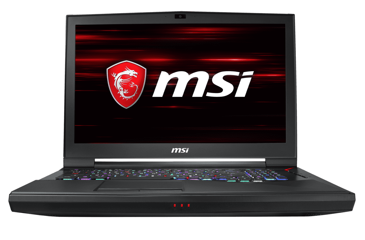 MSI  GT75 8SG-035 Gaming Notebook mit Core™ i9, 32 GB RAM, 512 GB & GeForce RTX 2080 in Schwarz | 04719072611491