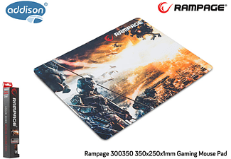 RAMPAGE 300350 350x250x1mm Gaming Mouse Pad